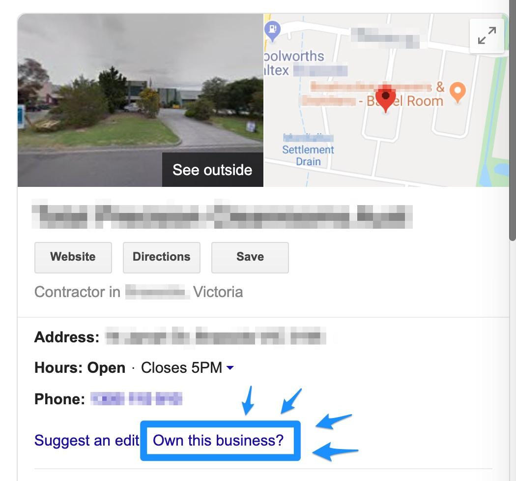 claim your google map Google Search