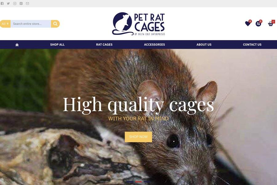 2.pet rat cages portfolio
