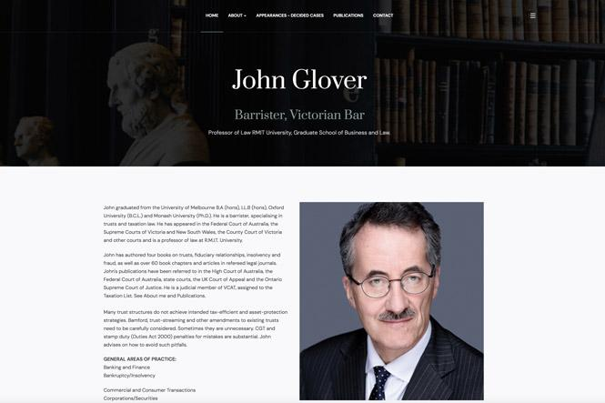 1.Dr John Glover Barrister hero