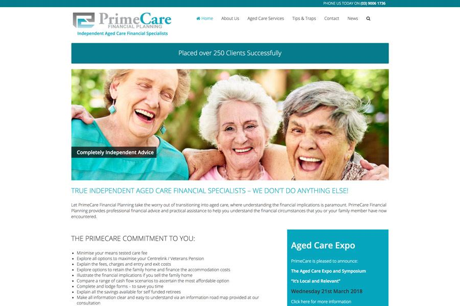1 primecare financial