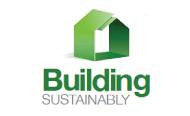 Logo design building sustainably