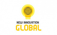 Logo design new innovation global logo 2020